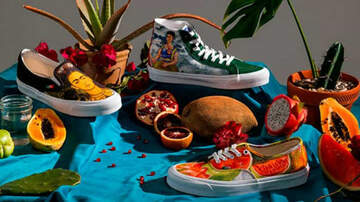 Suzette - Vans Is Honoring Frida Kahlo's Artwork On Their New Collection Of Shoes