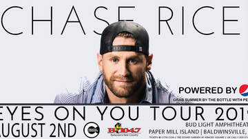 Contest Rules - Win tickets to see Chase Rice with Devin Dawson at Paper Mill Island!