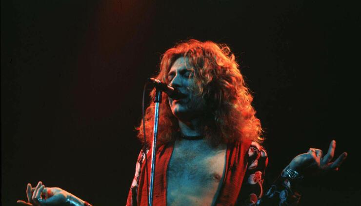 Led Zeppelin in Concert at Chicago Stadium - 1-21-1975