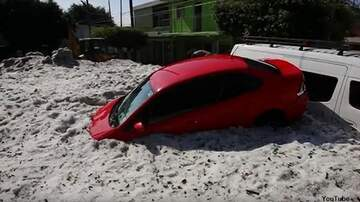 Coast to Coast AM with George Noory - Video: Monstrous Hailstorm Drops Five Feet of Ice on Mexican City