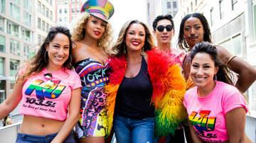 iHeartPride - Vanessa Williams Joins 103.5 KTU In Celebrating WorldPride NYC