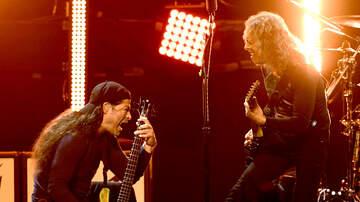 Maria Milito - See Metallica's Robert Trujillo, Kirk Hammett Cover Iron Maiden's Killers