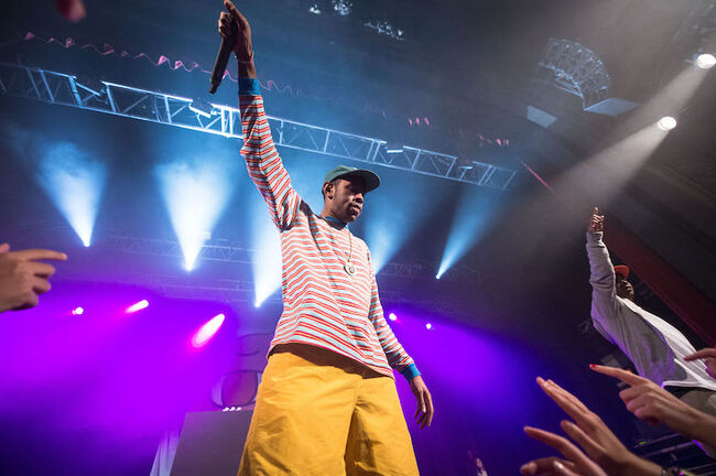 Tyler The Creator Performs at Le  Trianon