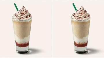 Suzette - Starbucks' Strawberry Donut Frappuccino Has Legit Donut Crumbles In It!