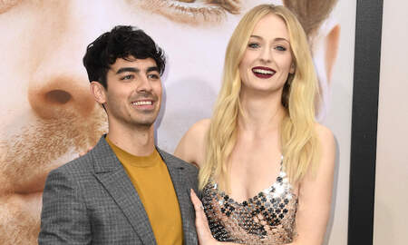 Entertainment News Sophie Turner Joe Jonas Share First Photo From Wedding In France