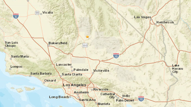 6.4 magnitiude earthquake in California