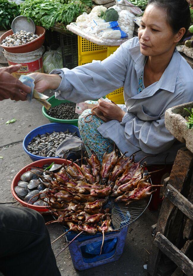 VIETNAM-LIFESTYLE-FOODS-RATS