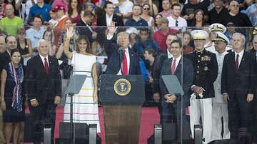 Politics - President Trump Praises of American Exceptionalism At July 4th Celebration