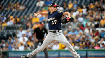 Brewers - Brewers lose 5-run lead, but hang on to win 7-6 Friday night