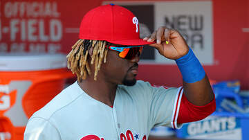 Sports Top Stories - Phillies Player Odúbel Herrera Suspended For Regular Season And Post Season