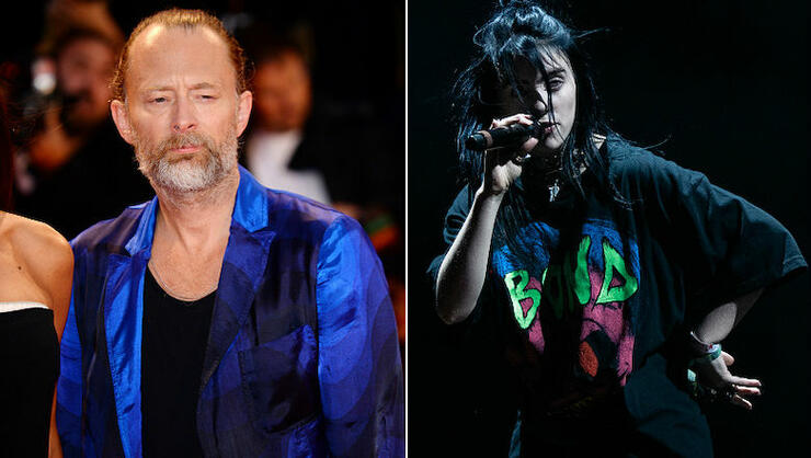 Thom Yorke Gave Billie Eilish 'The Coolest' Compliment When They Met