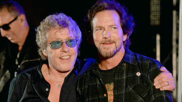 Trending - The Who Bring Out Eddie Vedder To Perform 'The Punk And The Godfather'