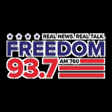 Freedom 93.7 logo