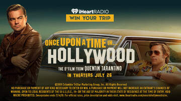 Contest Rules - Enter For The Chance To Win A Once Upon A Time In Hollywood Experience!