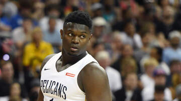 Louisiana Sports - Zion Williamson Out For Summer League With Bruised Knee