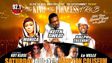 None - 92.1 The Beat Presents The King & The Princess of R&B
