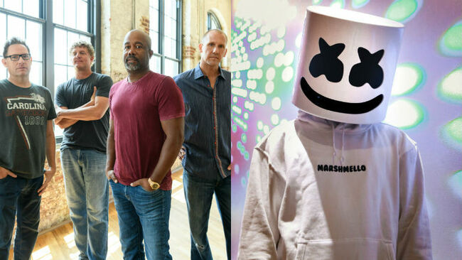 Hootie & the Blowfish, Marshmello Added to 2019 iHeartRadio Music Festival Lineup
