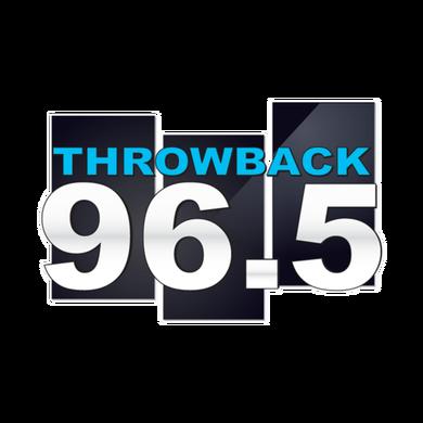 Throwback 96.5 logo