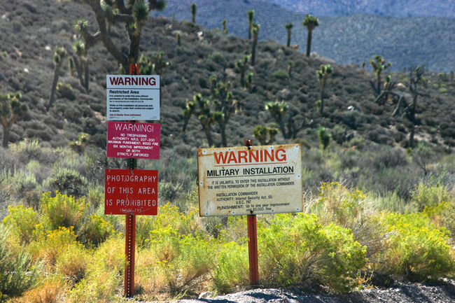 Area 51 Signs