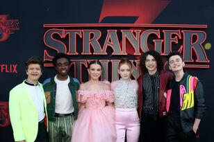 Stranger Things Cast Visits Korea