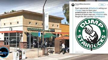 Trendy Topics - Starbucks Apologizes After Arizona Police Were Asked To Leave Store
