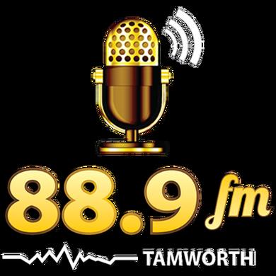 Tamworth's 88.9FM logo