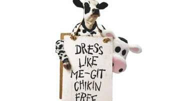 Whiskey and Randy - Dress Like a Cow, Get a Free Meal at Chick Fil-A!