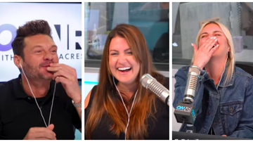 Ryan Seacrest - Ryan, Tanya & Sisanie Test Out Their Own ASMR Eating Sounds: Watch