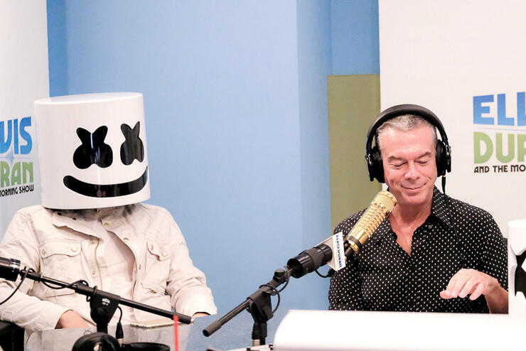 "Marshmello Visits ""The Elvis Duran Z100 Morning Show"""