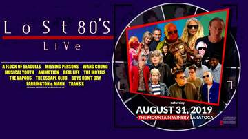 Contest Rules - Contest Rules: Lost 80s Live featuring A Flock Of Seagulls and more!