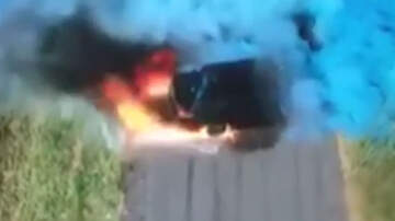 Weird News - Gender Reveal Party Goes Horribly Wrong As Car Bursts Into Flames