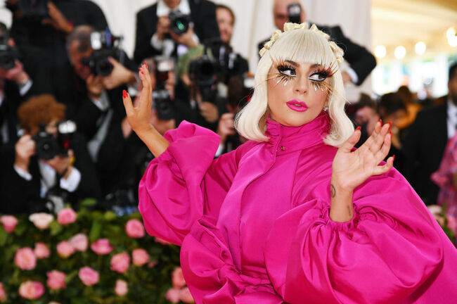 Lady Gaga- The 2019 Met Gala Celebrating Camp: Notes on Fashion - Arrivals