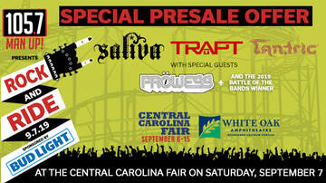 image for Special Presale Offer: Rock and Ride 2019