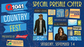 Article-News - Special Presale Offer: Q104.1's Budweiser Country Fest 2019