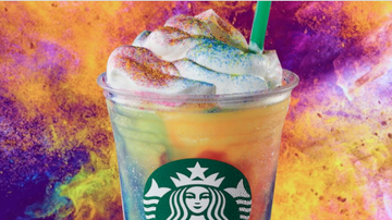 Johnjay And Rich - Starbucks New Tie-Dye Frappuccino Is Out Of This World