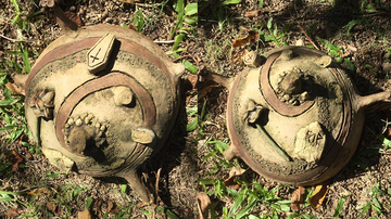 Weird, Odd and Bizarre News - Woman Worried After Digging Up Strange Artifact In Yard Of New Home