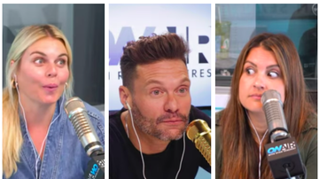 Ryan Seacrest - Ryan, Sis and Tanya Check In on Their (Failed, Oops!) Resolutions