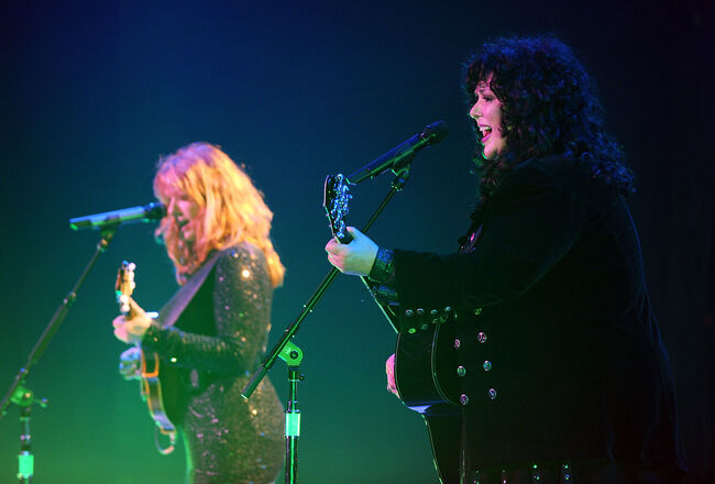 Heart In Concert At The Hammerstein Ballroom