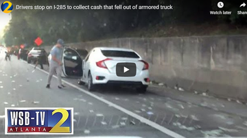 Jess Live - Almost $200,000 Falls off an Armour Truck, You Returning The Money? (VIDEO)