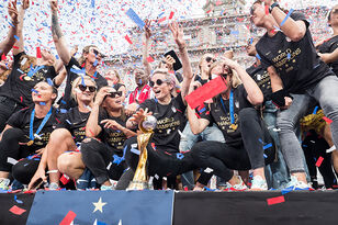 15 Epic Photos From The U.S. Women's Team World Cup Victory Parade