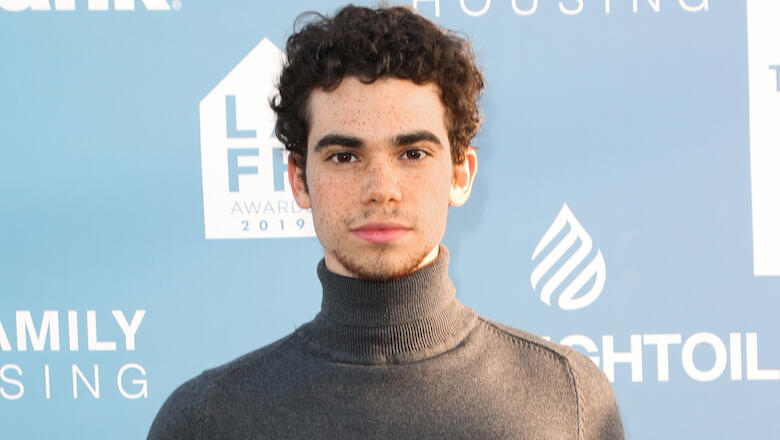 Cameron Boyce's Dad Shares Last Photo Taken Before His Death