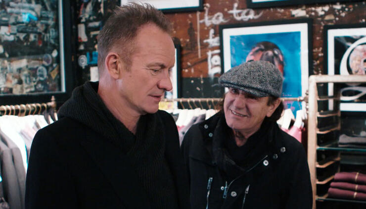AC/DC's Brian Johnson Is Bringing His Hit TV Series To U.S. In September | iHeartRadio