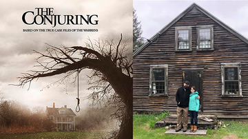 Weird, Odd and Bizarre News - Couple Who Bought Home That Inspired 'The Conjuring' Report Freaky Things