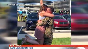 Reading and Harrisburg Breaking News - WATCH: Emotional Returns For Local Soldiers Coming Back to Central PA