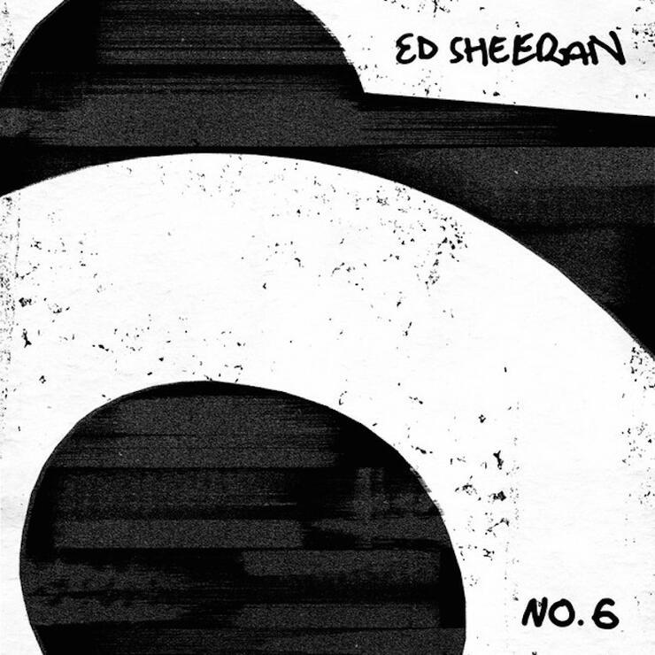 Ed Sheeran - 'No. 6 Collaborations Project' Cover Art