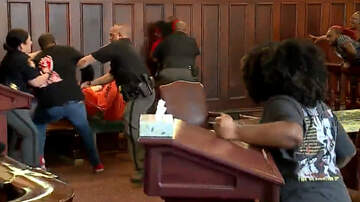 National News - Fight Breaks Out In Court When Murder Victim's Family Attacks Her Killer
