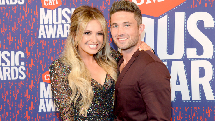 Carly Pearce And Michael Ray Visit Young Fan Fighting Leukemia At Hospital