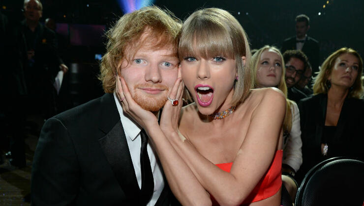 Taylor Swift Says Ed Sheeran Collab LP Is 'Full Of Bops & Instant Classics' | iHeartRadio
