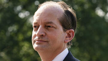 Politics - Labor Secretary Alex Acosta Resigns Over Criticism Of Epstein Plea Deal