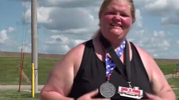National News - Iowa Woman Shatters World Record For Heaviest Female To Complete a Marathon
